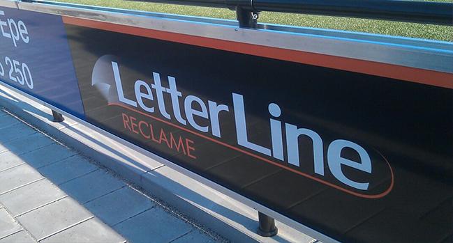 Letterline Reclame Epe | Reclameborden, reclame, borden, apeldoorn, zwolle
