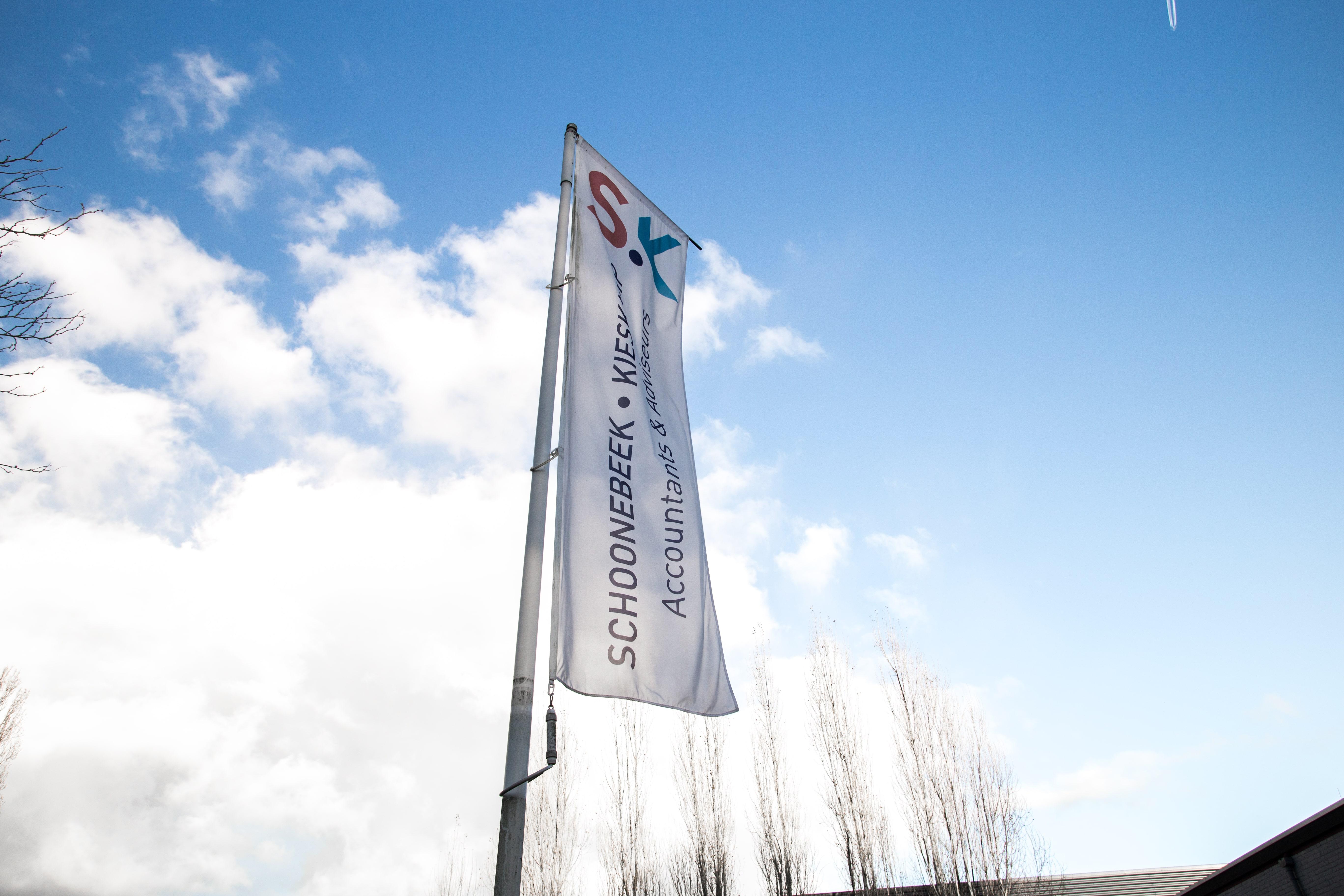 Letterline Reclame Epe | vlaggen en banieren - promotiemateriaal - masten