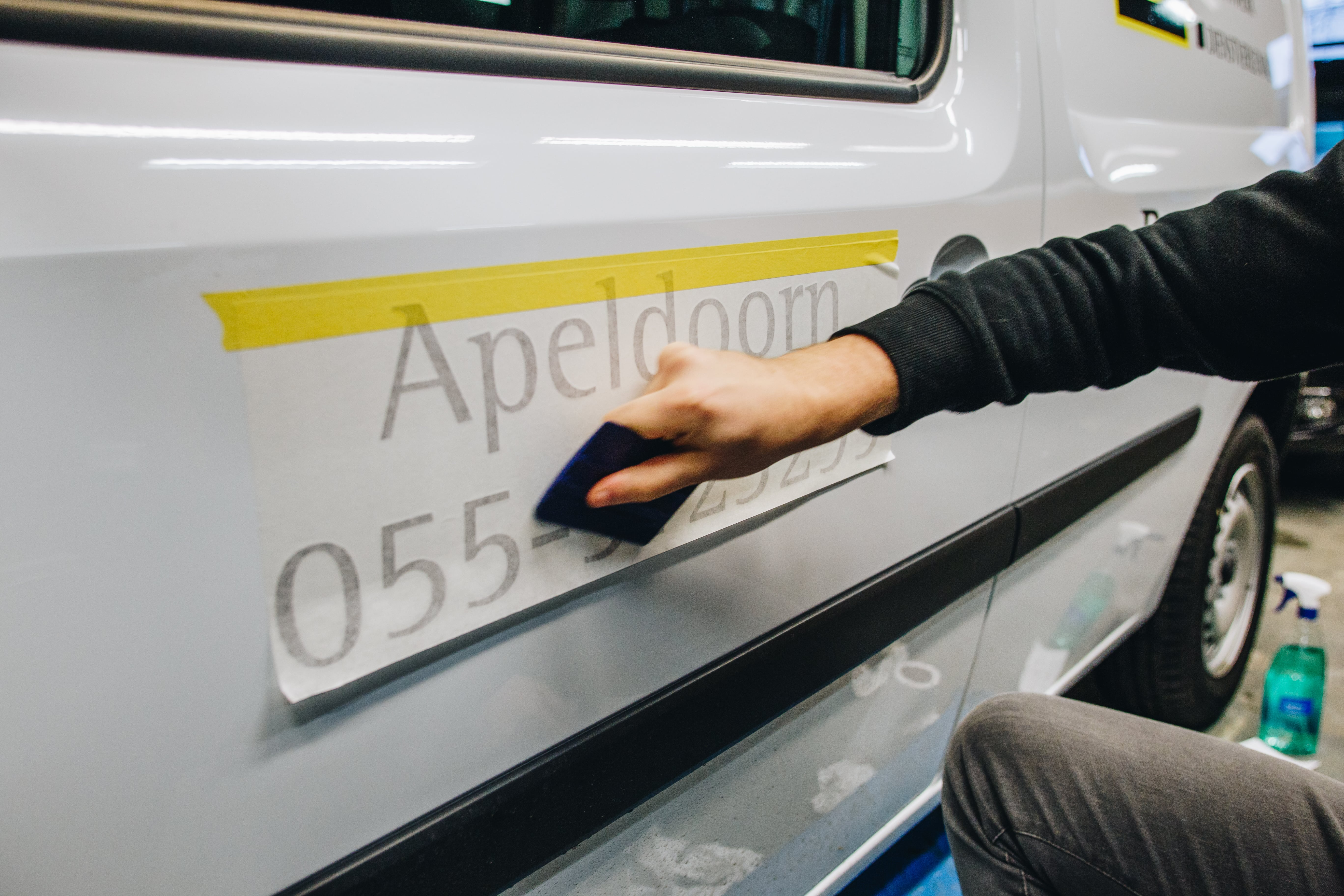 Letterline Reclame - epe - autobelettering - sign - reclamebedrijf - reclamebureau - apeldoorn - heerde - hattem - zwolle