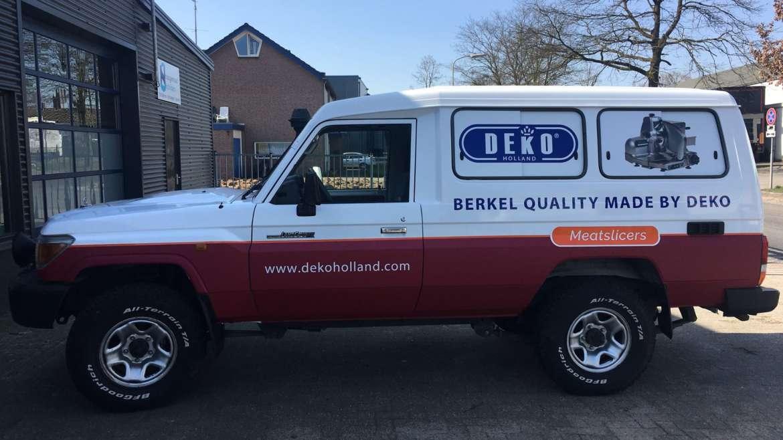Car wrapping Deko Holland