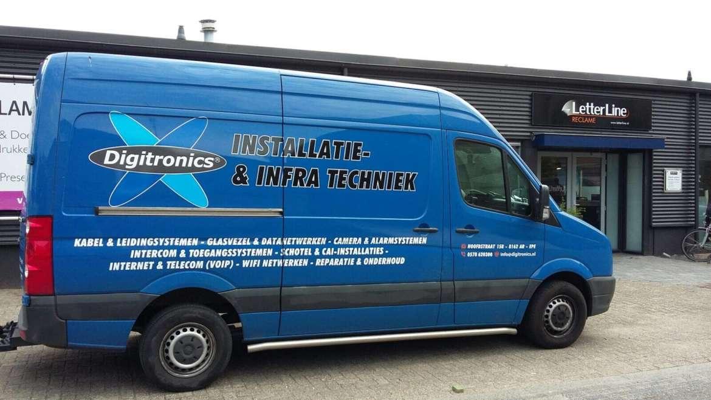 Busbestickering Digitronics Epe