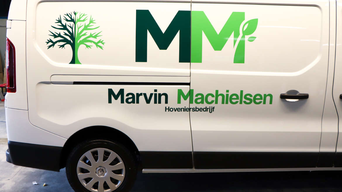 Busbestickering Marvin Machielsen