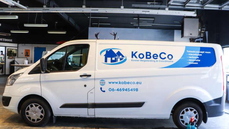 Busbestickering voor KoBeCo